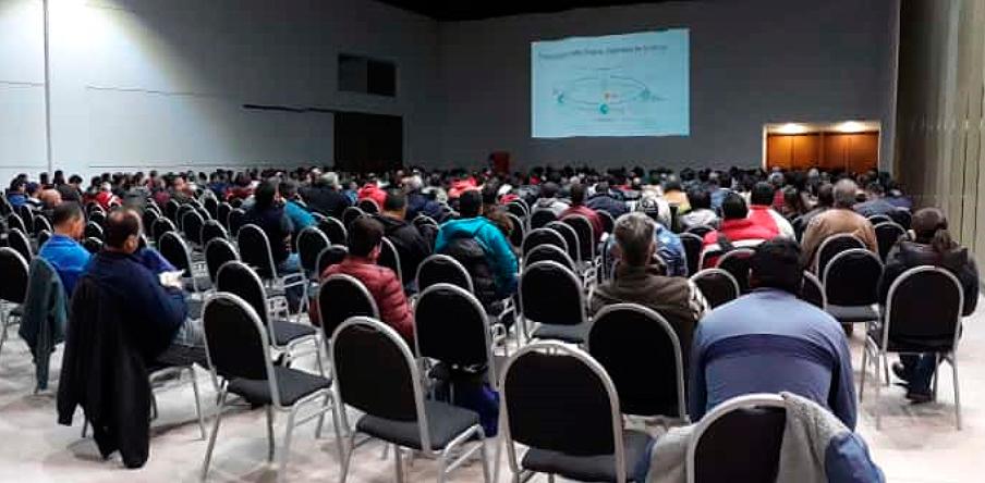 Participamos En La Capacitaci 243 N De M 225 S De 500 Personas